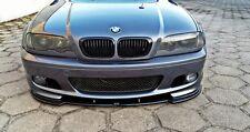 Cup Spoilerlippe BMW 3er e46 Lippe Frontspoiler Spoiler Schwert M Paket M3 CSL
