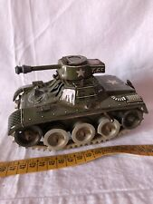 TIN TOY VINTAGE GAMA TANK MADE IN GERMANY CARRO ARMATO