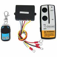 12V Recovery Wireless Winch Remote Control 2 Handset Switch For JEEP ATV SU E7H2