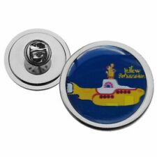 THE BEATLES YELLOW SUBMARINE METAL TIE PIN