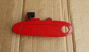 TOYOTA YARIS 2002 EXTERIOR DOOR HANDLE LEFT PASSENGER SIDE N/S RED