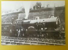 POSTCARD SR CLASS L LOCO NO 763 BETTY BALDWIN AT ASHFORD 1914