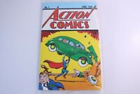 DC Action Comics Superman No 1 June 1938 Reprint Loot Crate COA