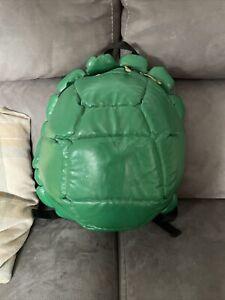 RARE Teenage Mutant Ninja Turtles Retro TMNT Turtle Shell Big Backpack Bookbag