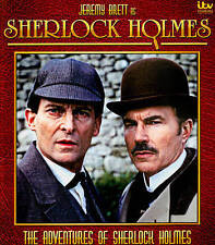 Adventures of Sherlock Holmes [Blu-ray] DVD, David Burke, Jeremy Brett, n/a