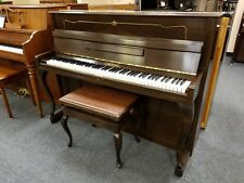 """Ibach Walnut 42"""" Upright Piano (Pre-Owned) Made in Germany in 1962"""