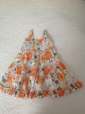 Girls sprout flower dress - size 1