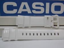 Casio Watch Band W-S220 White Tough Solar Illuminator 5 Alarm Watchband Strap