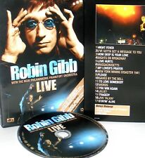 Robin Gibb - Live DVD,NEW! FREE SHIP ! FRANKFURT CONCERT , BEE GEES , XBOX ,PS2