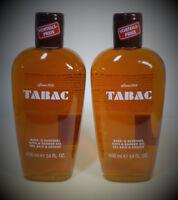 2 x 400 ml = 800 ml Tabac Original Bath & Shower  Duschgel