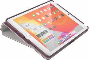 "Speck - Balance Folio Case for Apple® iPad® 10.2"" 7th & 8th Gen PLUMBERRY PURPLE"