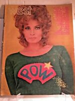 LOS ANGELES TIMES WEST MAGAZINE 1970 June RAQUEL WELCH VINTAGE AND RARE