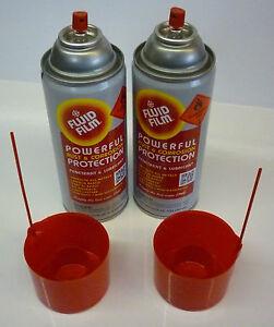 FLUID FILM RUST & CORROSION preventative spray - 2 cans 333G (11.75oz)