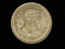 1963 Mexico Un Peso - Silver