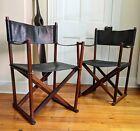 Safari Chairs In Rosewood + Black by Mogens Koch Juhl Wegner Danish Modern