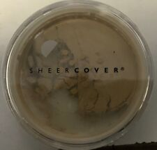 SHEER COVER Mineral Foundation BUFF spf 15. (4G) FACTORY SEALED.