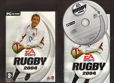 RUGBY 2004. EXCELLENT RUGBY GAME FOR THE PC!!