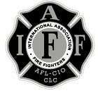 """4"""" IAFF Decal Black and Silver Exterior Mount READ AUCTION"""