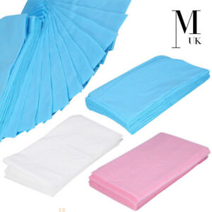 Pink BED COVER Sheet Roll Disposable Microblading PMU Tattoo Health Blue White