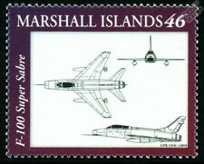 USAF North American F-100 SUPER SABRE Fighter Aircraft Design Stamp