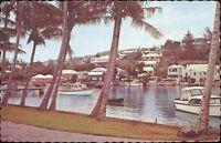 Bermudas - TARJETA POSTAL- - De Flatt Admisión años pueblo