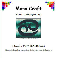 MosaiCraft Pixel Craft Mosaic Art Zodiac Kit 'Cancer' Pixelhobby