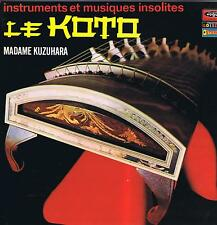 LP JAPAN LE KOTO MADAME KUZUHARA JAPON