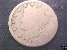 1885 Liberty V Nickel..Full Good..Full Detail Obv./Rev.