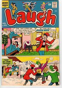 LAUGH COMICS #253 1972 ARCHIE BRONZE AGE COOL!