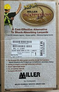 Personal Fall Limiter   Miller Scorpion by Honeywell PFL-4-Z7/9FT * NEW IN BOX *