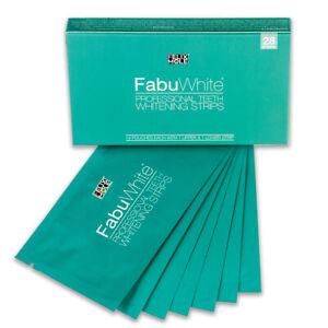 FabuWhite Professional Advanced Teeth Whitening Strips White Safe Effective