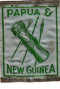 Boy Scout Badge obsolete PAPUA & NEW GUINEA