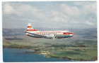 Hawaiian Airlines 1955 Postcard - Vintage HA Convair 340 Airplane Hawaii Aloha C