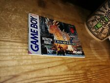 Nintendo game boy DRAGON HEART instruction booklet manual RARE-Dragonheart
