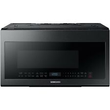 Samsung Black Stainless 30'' Over-The-Range Sensor Microwave ME21M706BAG