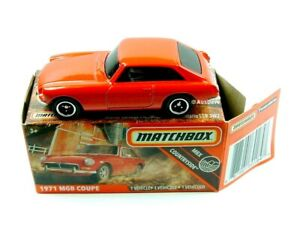 2020 MATCHBOX / #61 1971 MGB GT Coupe (Red) / HERITAGE BOX.