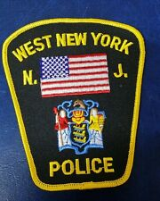 WEST NEW YORK, NEW JERSEY POLICE SHOULDER PATCH NJ