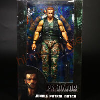 "NECA Predator 30th Anniversary Jungle Patrol Dutch 7"" Action Figure Collection"