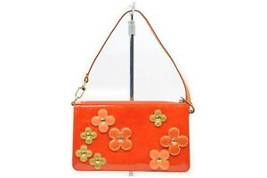 Louis Vuitton Accessories Pouch M92247 Flower Lexington Oranges Vernis 1714178