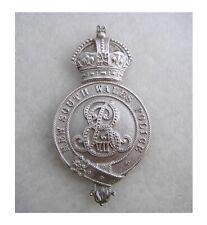 NSW POLICE FORCE Australia, Sterling Silver, King Edward 7 plate/badge. Stunner!