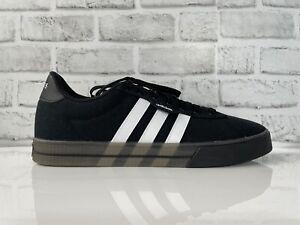 Adidas Originals Daily 3.0 Black White Skate Boarding Shoes FW7050 Men Size 13