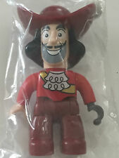 *NEW* Lego DUPLO Male Never Land PIRATES CAPTAIN HOOK