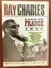 DVD CONCERT / RAY CHARLES LIVE IN FRANCE 1961 / NEUF SOUS CELLO