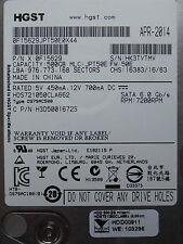 500 GB HGST HDS721050CLA662 / 0F15629 / JPT50E / APR 2014 / 0A72944  BA3786 *