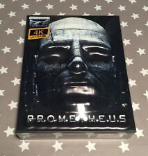 PROMETHEUS - FILMARENA FAC #103 ED 3 EMBOSSED 4K ULTRA HD BLU RAY STEELBOOK -NEW