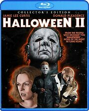 HALLOWEEN II 2 Blu-ray Collector's Edition Film Horror Jamie Lee Scary Donald TV
