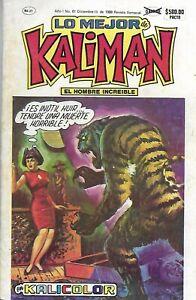 Kalicolor #61 -Diciembre 13, 1988 -  Mexico