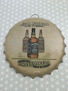 Large BOTTLE CAP Man Cave Bar Pub Tavern Wall Retro Vintage Sign Tin Plate