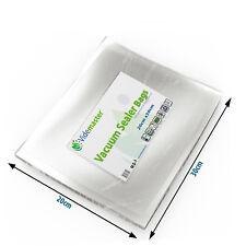 Videmaster 20cm x 30cm High Quality Embossed Vacuum Food Sealer Bags - 100 Piece