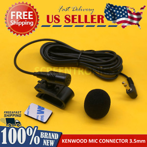NEW Microphone for KENWOOD DDX25BT Car Stereo Radio Handsfree Mic Replacement